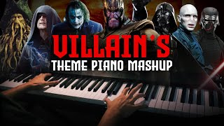 Villain's Theme Epic Piano Mashup/Medley (Piano Cover)+SHEETS&MIDI