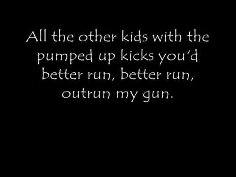 Foster the People- Pumped Up Kicks (Lyrics)