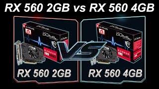 RX 560 2GB vs RX 560 4GB - Comparison -  Arcade Template