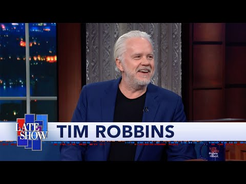 "Tim Robbins Quizzes Stephen About ""The Shawshank Redemption,"" A Movie Stephen Has Never Seen"