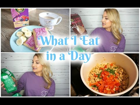 What I Eat in a Day: Natural + Organic Foods!