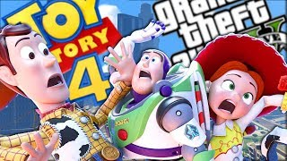 THE ULTIMATE TOY STORY MOD (GTA 5 PC Mods Gameplay)