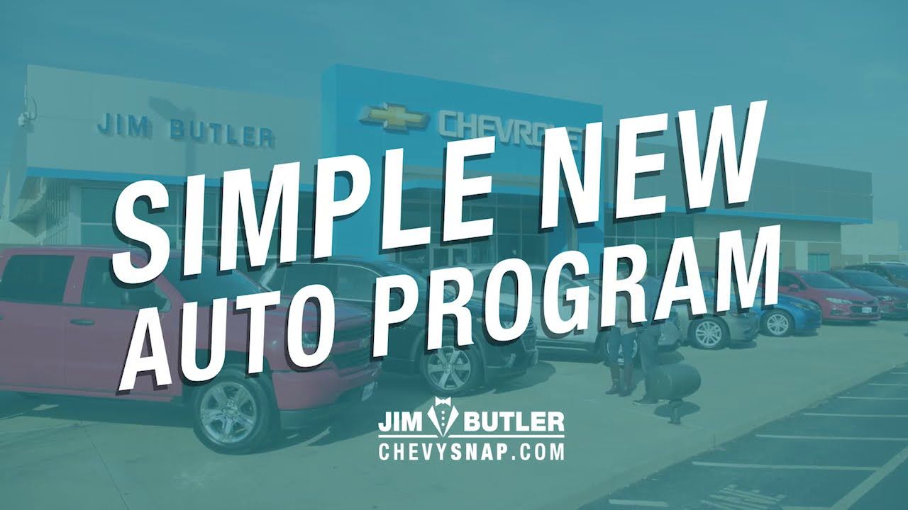 Jim Butler Chevrolet Simple New Auto Program Youtube