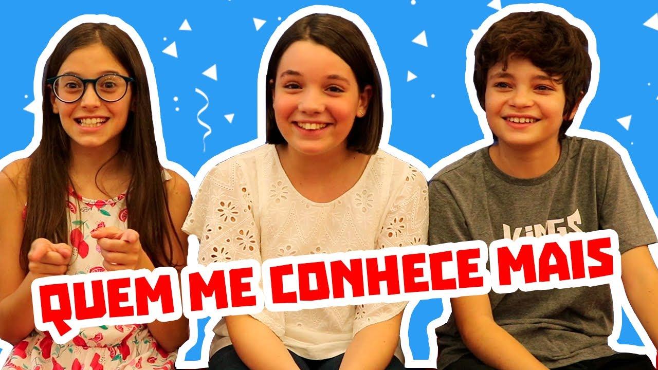 QUEM ME CONHECE MAIS? ♡ Giulia Benite, Kevin Vechiatto e Laura Rauseo