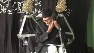 Marsiya - Janab Muztar Jaunpuri l Imambargah Nazim Sahab, Bazaza l Lucknow