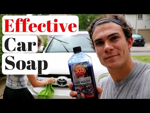 Best Car Soap For Traditional Washing: 303 Car Soap Review!