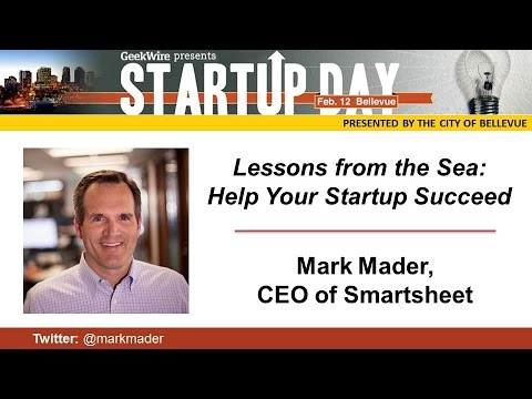 CEO Mark Mader: Lessons From the Sea That Can Help Your Startup Succeed