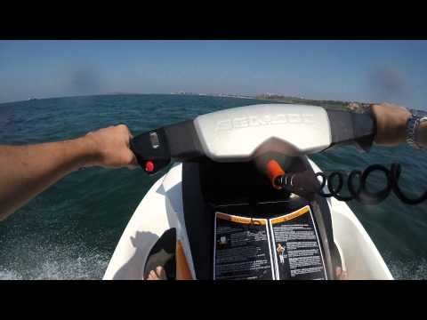 Jet-ski ride near Sozopol , Bulgaria
