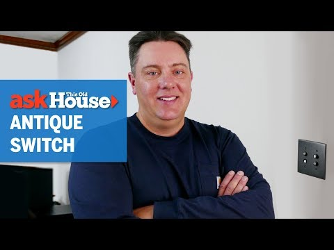 How to Install an Antique Light Switch | Ask This Old House