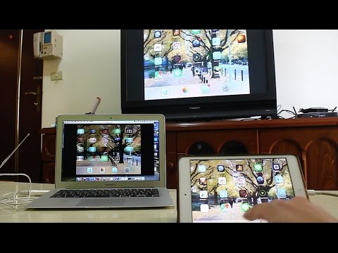 iPad become wireless UHF  DVB-T TV STATION.