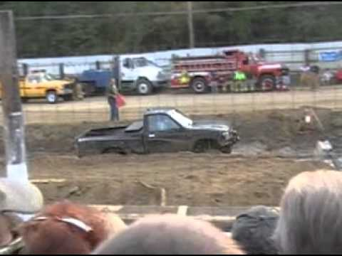 Mud racing part 1 from the 2012 Brown county 4-H Fair Nashville Indiana