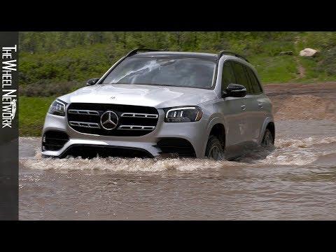 2020 Mercedes-Benz GLS 580 4MATIC Off-Road Driving | Irridium Silver