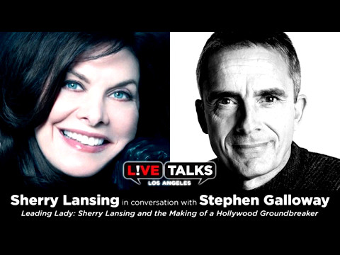 Sherry Lansing in conversation with Stephen Galloway at Live Talks ...