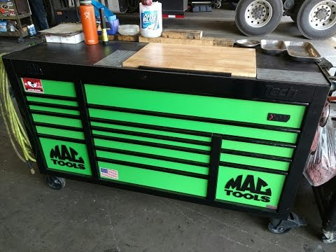 New Mac 1084 toolbox with power drawer