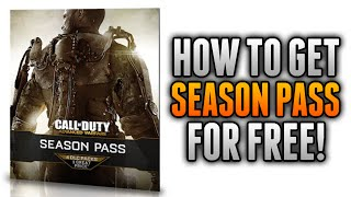 Advanced Warfare - How To Get SEASON PASS For Free with FreeMyApps! (COD AW Season Pass DLC)