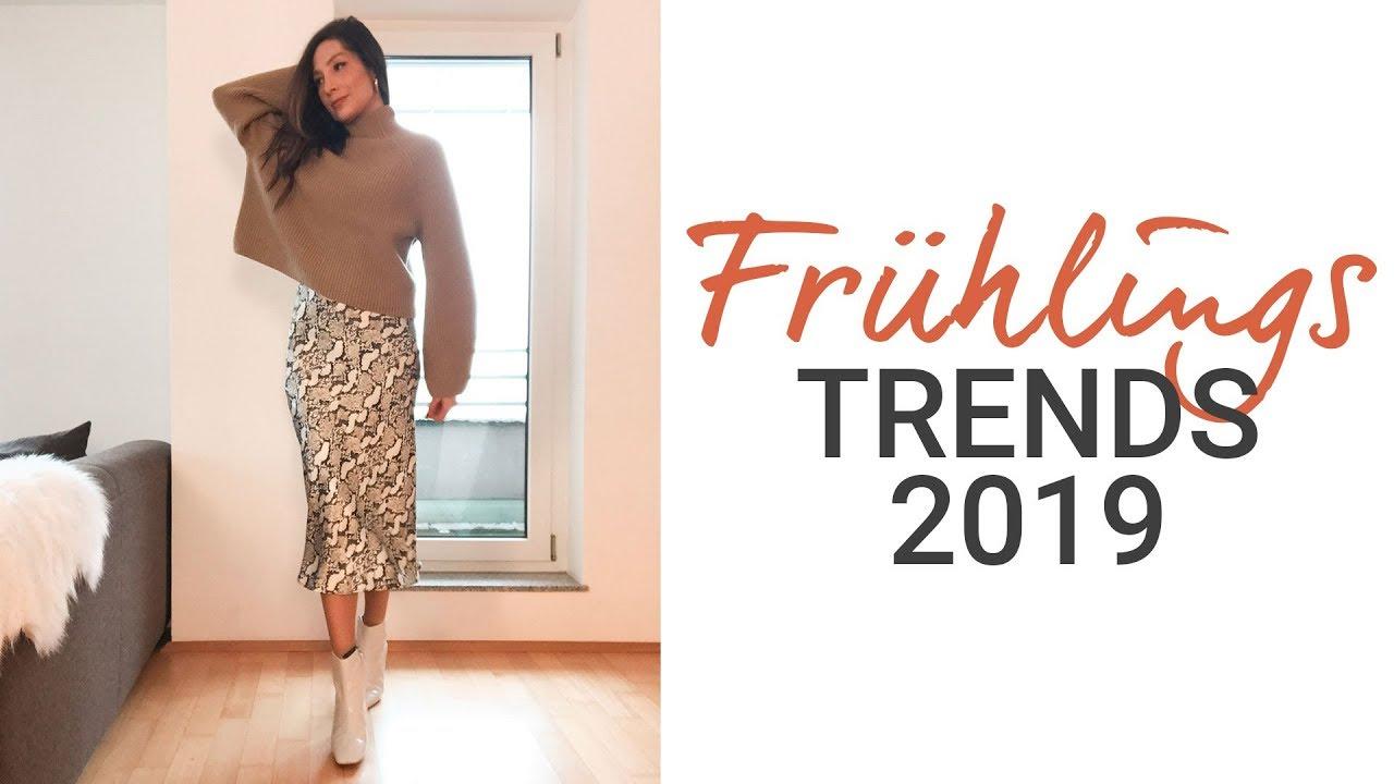 Trends Frühling Sommer 2019 | Die 7 größten Modetrends | natashagibson