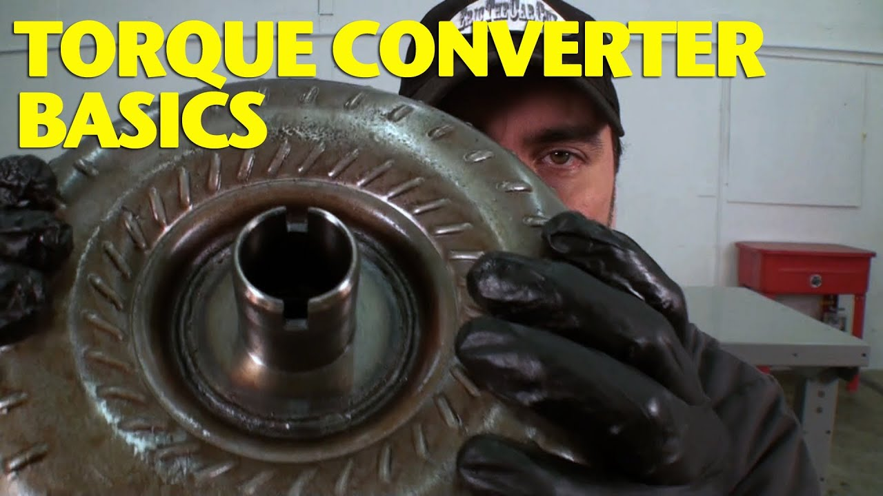 How Does A Torque Converter Work >> How Does A Torque Converter Work