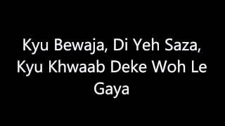 Main Dhoondne Ko Zamaane - Karaoke - Arijit Singh - Instrumental With Lyrics