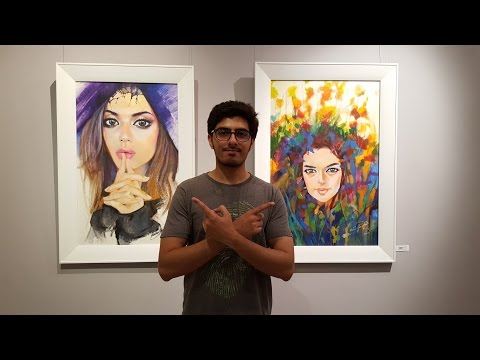VISUAL VERSES | Ejaz Art Gallery Exhibition Lahore Pakistan