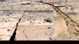 لا يصدق! صدع عملاق يظهر في الأرض 17km