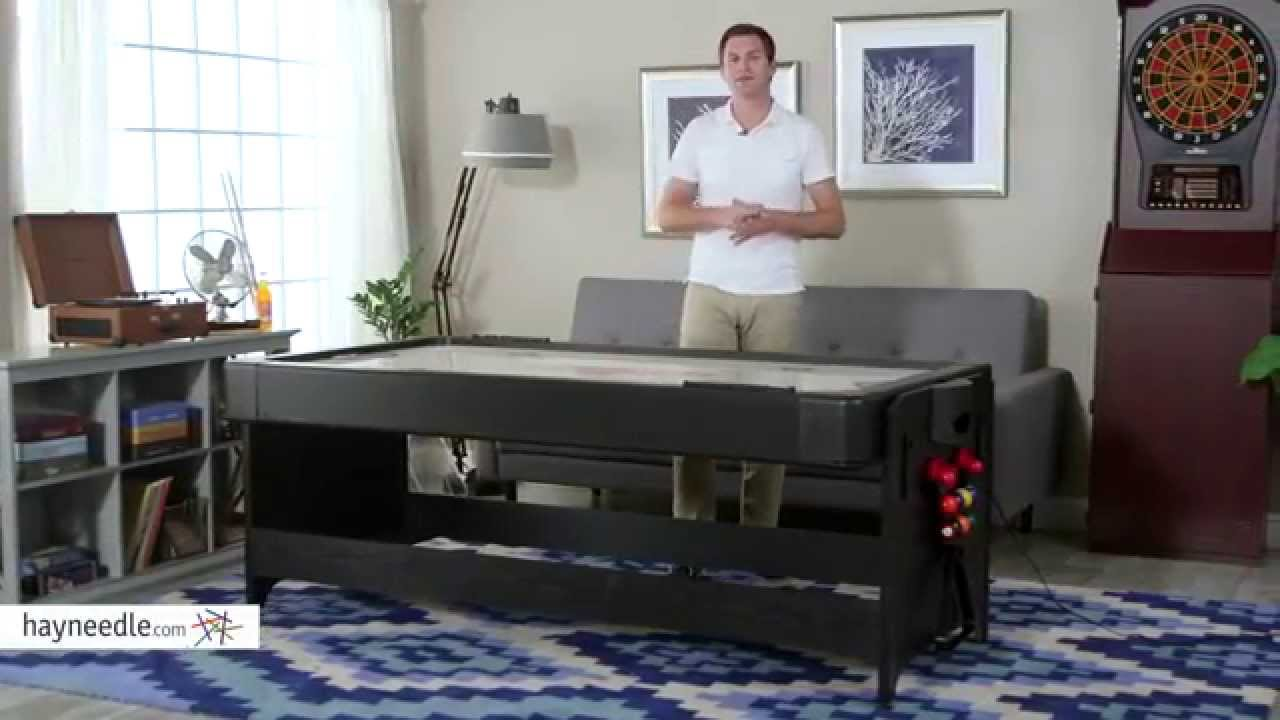Fat Cat 7 Ft. Black Pockey Table   Billiard U0026 Air Hockey   Product Review  Video