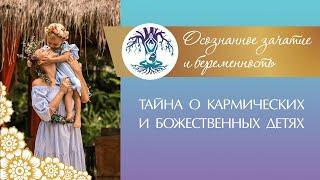 ТАЙНА О КАРМИЧЕСКИХ И БОЖЕСТВЕННЫХ ДЕТЯХ - 1