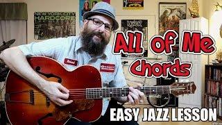 All of Me - Easy Jazz Chord Lesson (Western Swing/Gypsy Jazz)