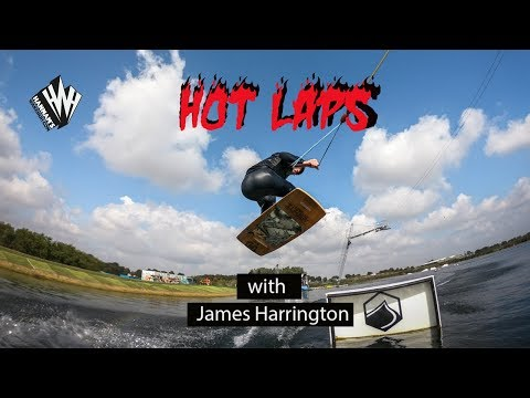 WAKESKATE. Hot Laps with James Harrington