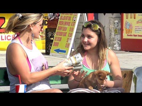 Buying Strangers DOG Prank (Social Experiment)