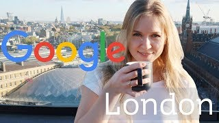 Google London and the Stunning View | Blonde Vlogs