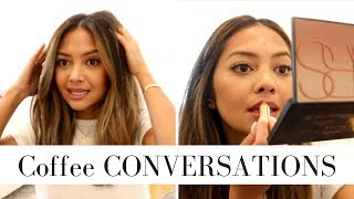 Coffee Conversations: Customer Service, New Years Resolutions, Styling My Short Hair and MORE!!