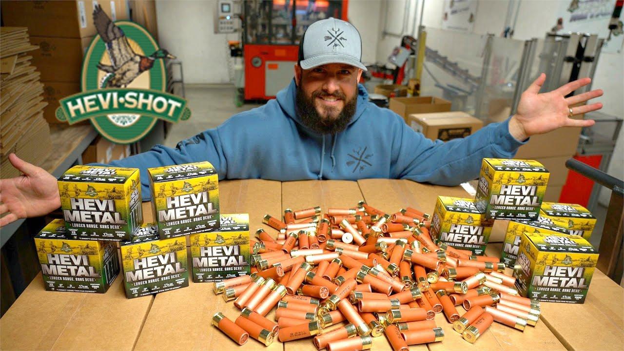 How Shotgun Shells are Made! (Hevi Shot, Hevi Metal, Hevi X)