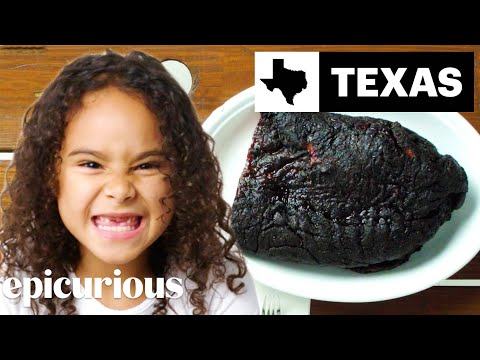 Kids Try BBQ From 10 States | Bon Appétit