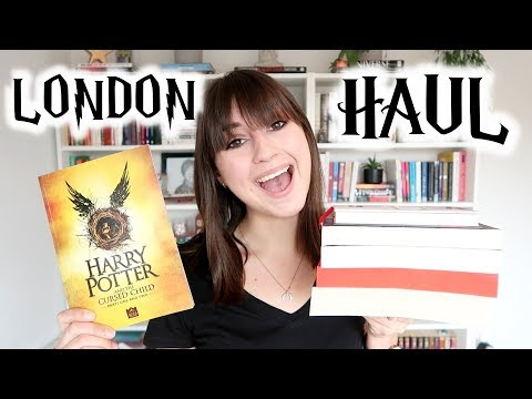 LONDON HAUL | Books, Fashion & Harry Potter!