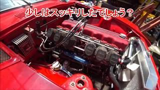S30 エンジンルーム内組み付け エンジン始動~アフターファイヤー ((((;゚Д゚)))) 注意