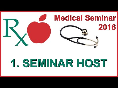 Vegfest Medical Seminar 2016 - 1. Seminar Host