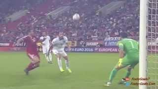 Görögország vs Magyarország 4 3 Összefoglaló Golók EB Selejtező 11.10.2015 HD