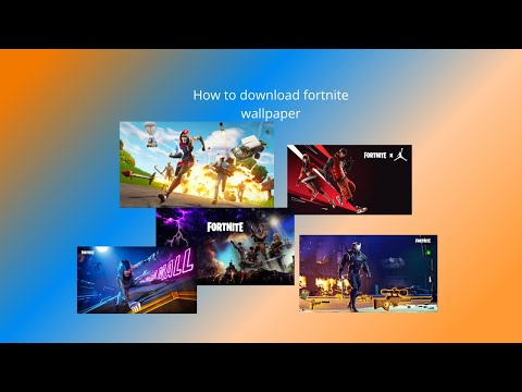 How To Download Fortnite Hd Wallpapers