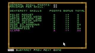 Playthrough of Buck Rogers Countdown to Doomsday - Part 1 - Making Characters