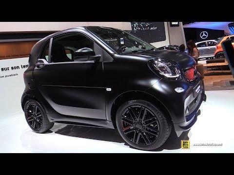 2019 Smart EQ ForTwo PureBlack Electric Vehicle - Exterior, Interior Walkaround