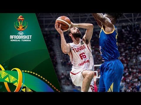 Tunisia v DR Congo - Highlights - Quarter-Final - FIBA AfroBasket 2017