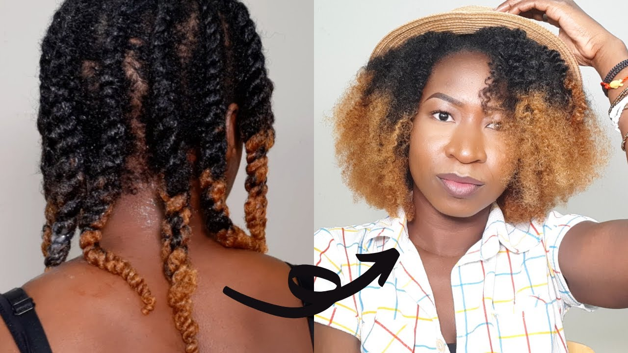 HOW TO FLAT TWIST NATURAL HAIR FOR VOLUME | PROTECTIVE NATURAL HAIRSTYLE | BELLE_GRACIAZ - YouTube