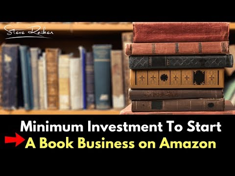 Minimum Investment To Start A Book Business on Amazon ( A Complete Breakdown )