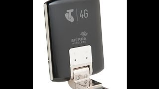 Sierra Netgear AirCard 320U updated driver 4G Lte Smartone Telstra Wireless