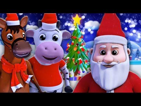 gemerincing lonceng | Natal lagu | Lagu Anak | lagu festival | Jingle Bells | Farmees Indonesia