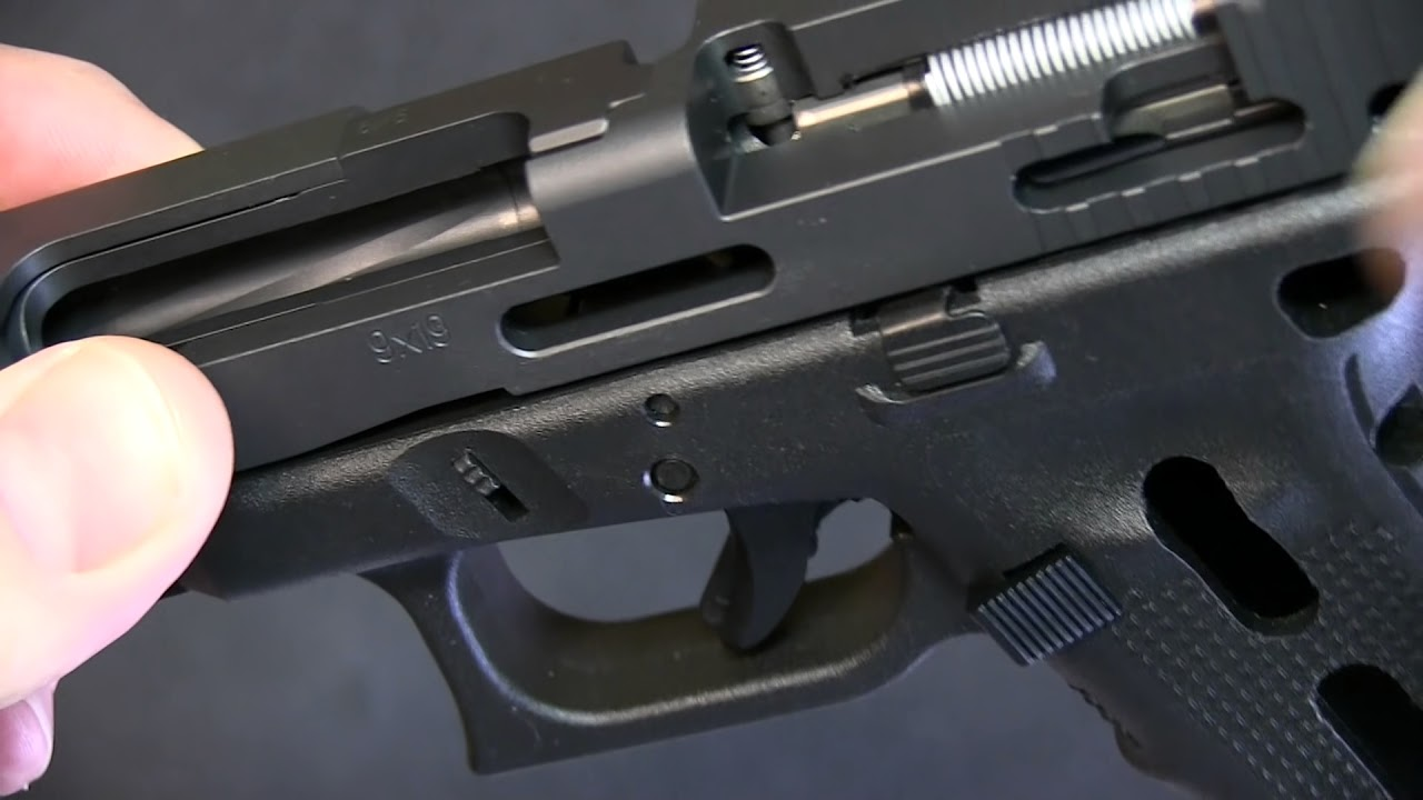 how a glock works with glock cutaway  [ 1280 x 720 Pixel ]