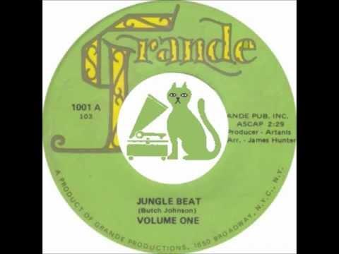 VOLUME ONE - JUNGLE BEAT latin R&B funk dancer