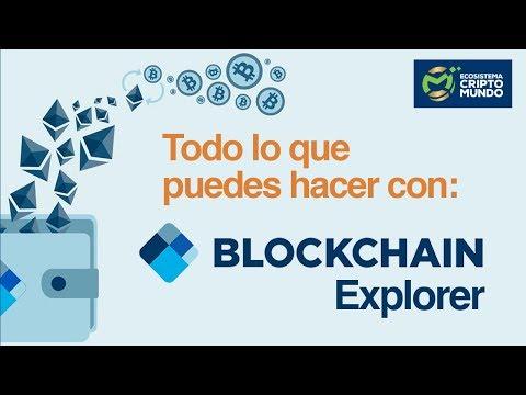 Qué Es Y Cómo Funciona Blockchain.com - Explorador De Bloques // ????Tutorial Completo ????