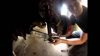How to properly cut springs (how to lower your car)