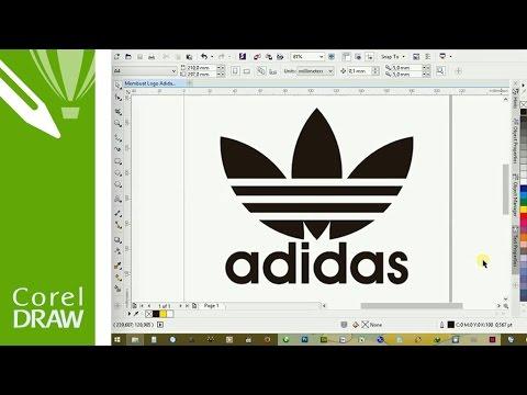 How to Make Adidas Logo in CorelDRAW